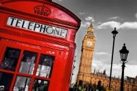 Лондон. Телефонная будка