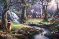 Белоснежка в лесу